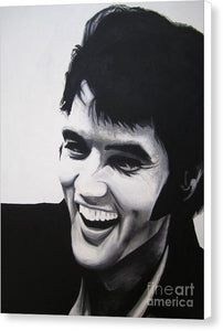 Young Elvis - Canvas Print