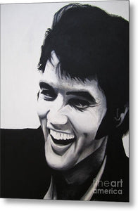 Young Elvis - Metal Print