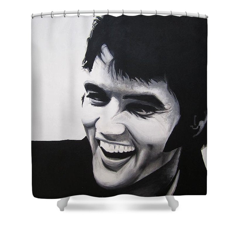 Young Elvis - Shower Curtain