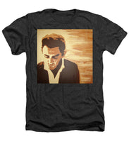 Load image into Gallery viewer, Young Johnny Cash - Heathers T-Shirt
