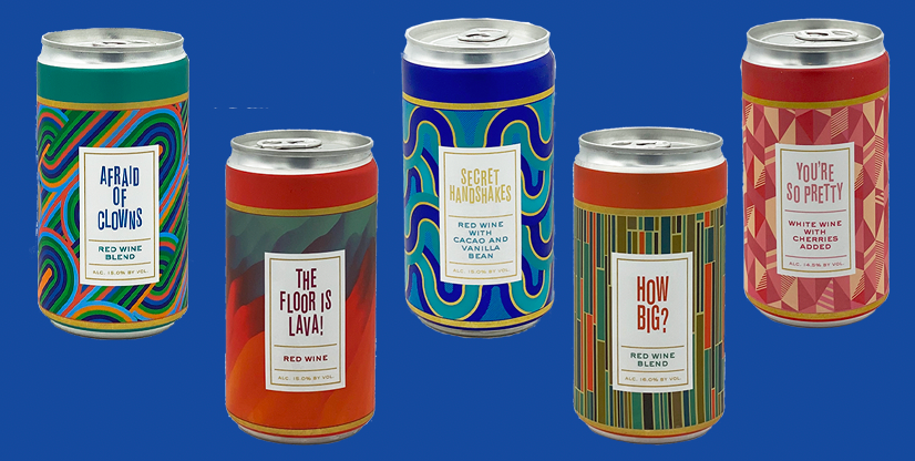 Gold Medal Winners at the 2020 International Canned Wine Competition