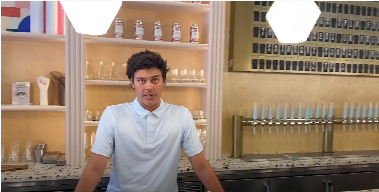 Take a Tour of Our Taproom With Sam!