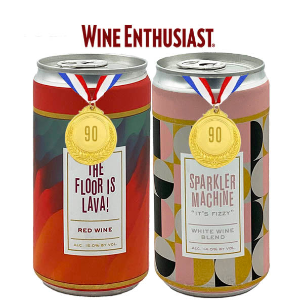 We're Worthy! Two Erosion Wines Receive 90 Points from Wine Enthusiast