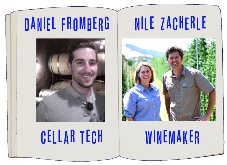 Behind the Scenes-- Perspectives from a Cellar Pro & a Winemaker