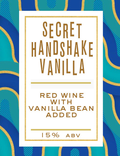 Secret Handshake Vanilla - 10L Keg - Erosion Wine Co.
