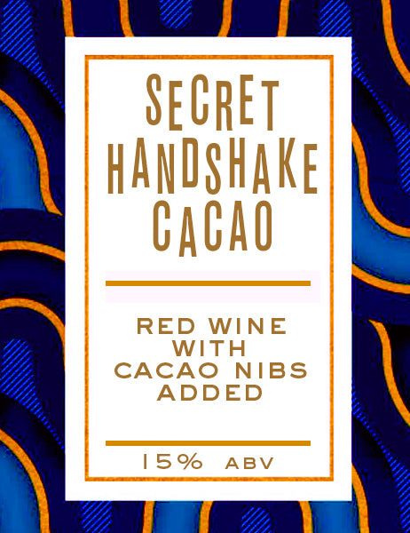 Secret Handshake Cacao - 750mL Crowler - Erosion Wine Co.