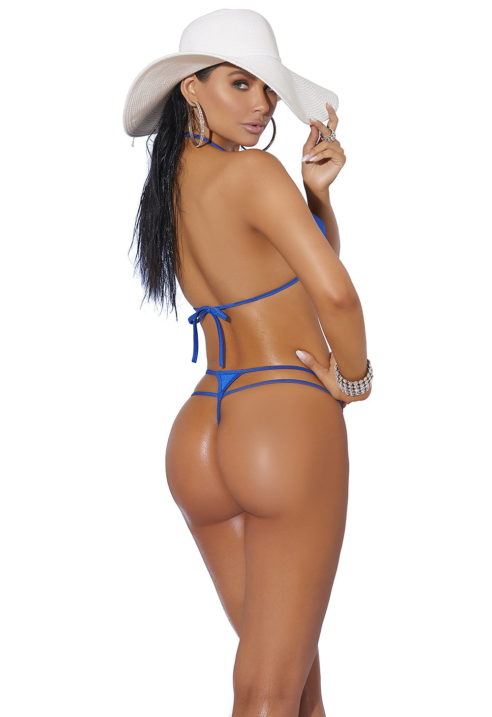 Royal blue spicy bikini