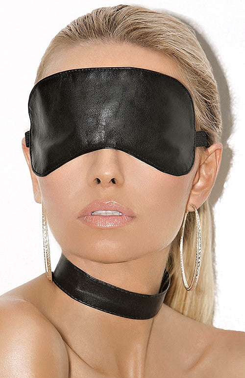 L9152 Leather blindfold. - Sexylingerieland