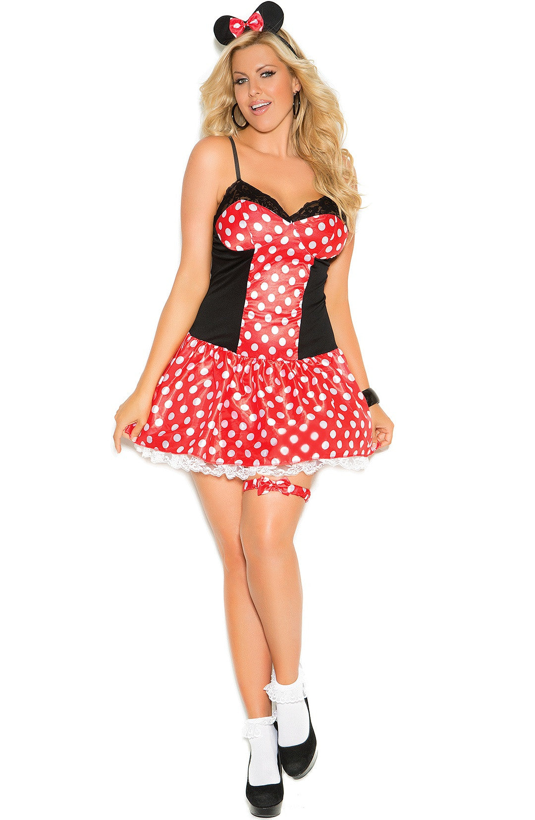 EM-9130 Miss Mouse costume - Sexylingerieland