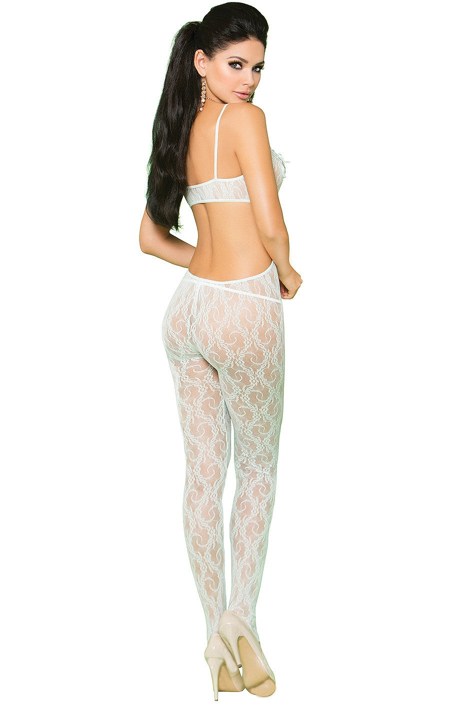 EM-81227 Glam mint green bodystocking - Sexylingerieland  - 2