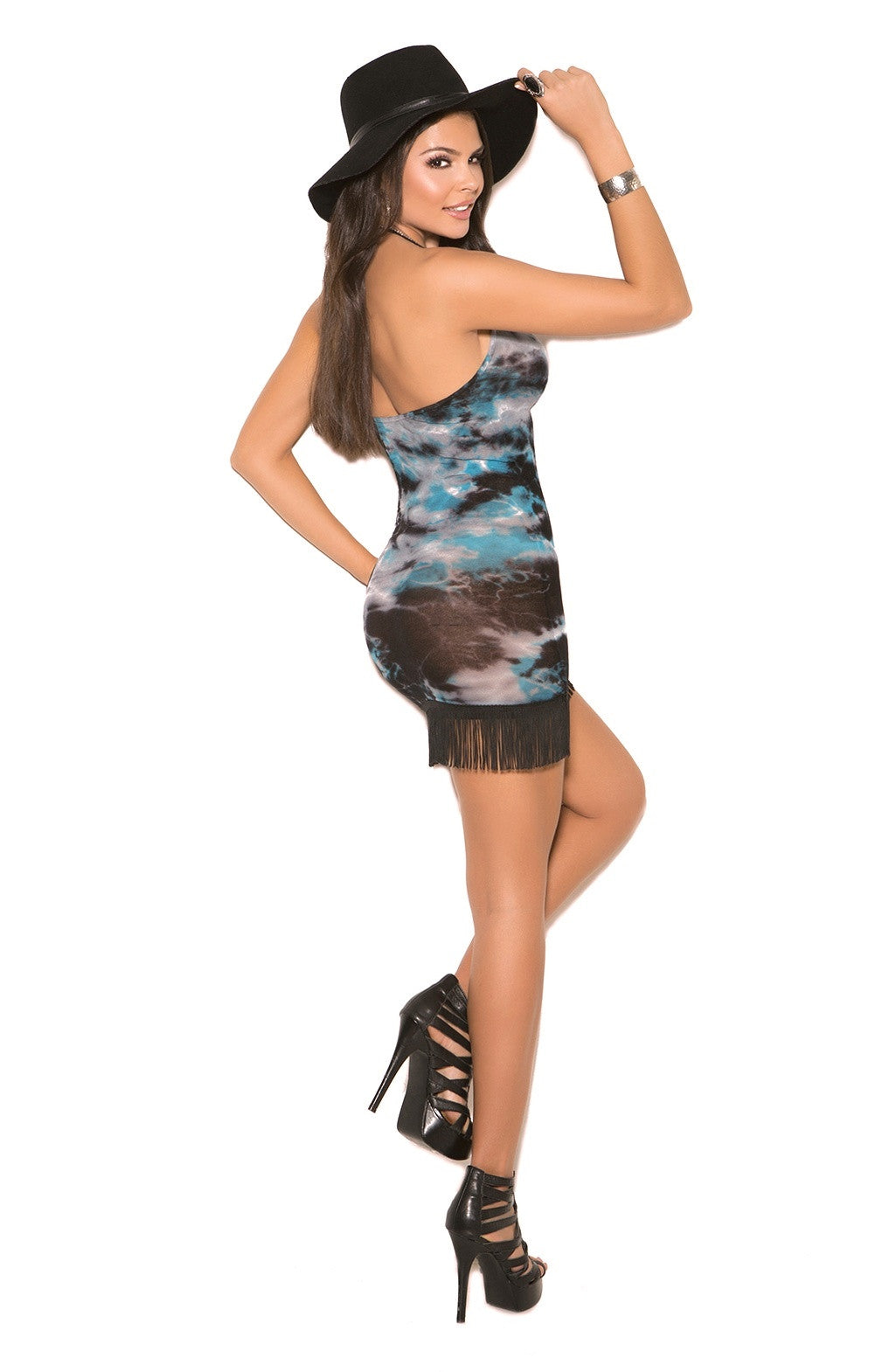 EM-82006 Colorful party dress - Sexylingerieland  - 2