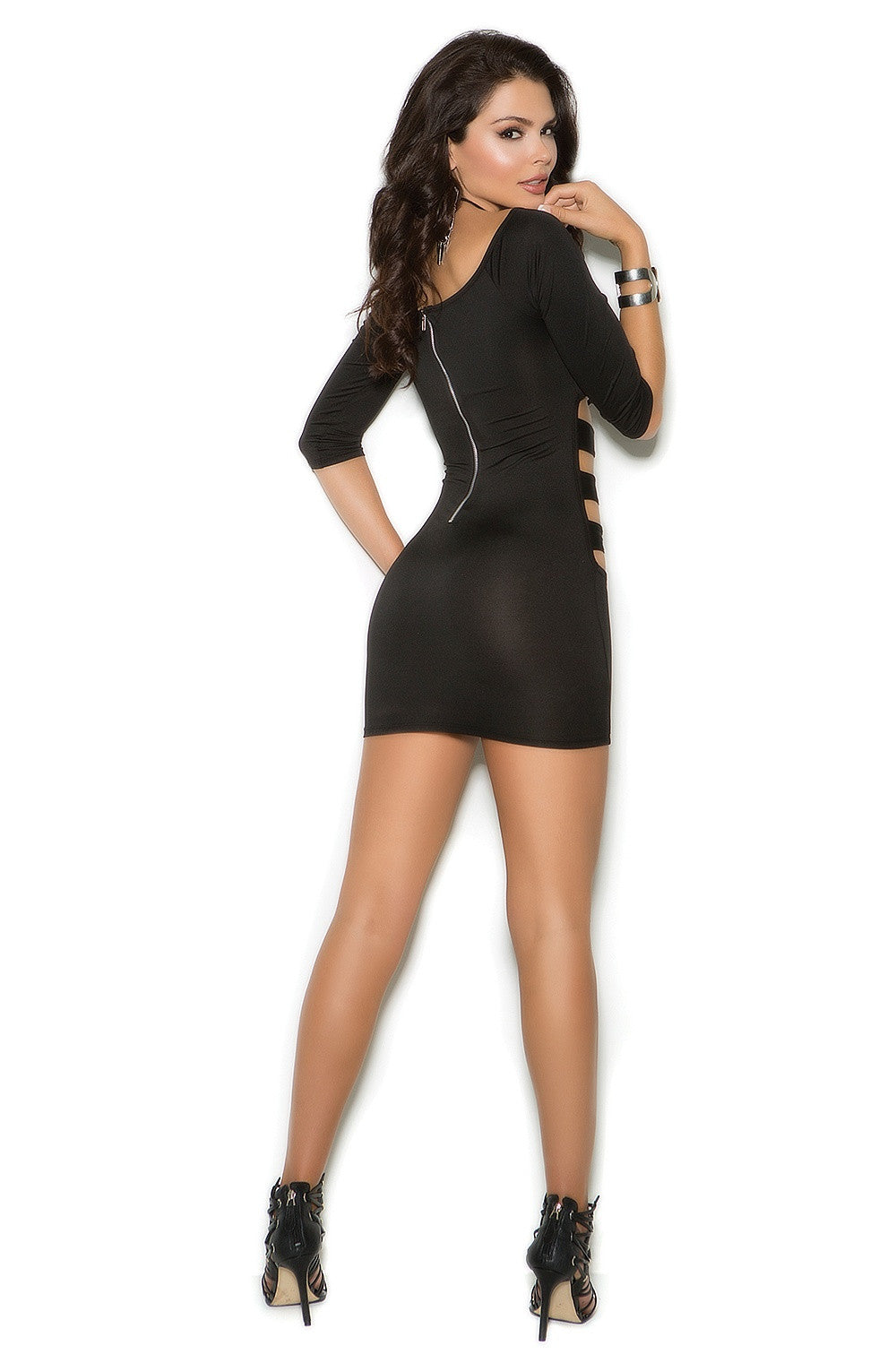 EM-88050 Black sexy dress - Sexylingerieland