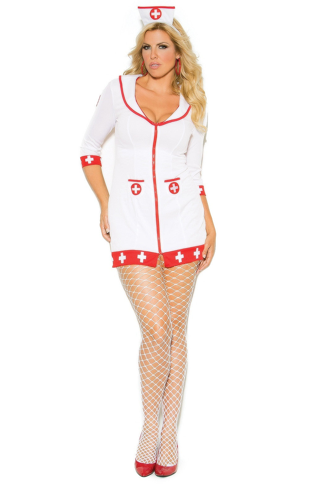 EM-99001 Cardiac Arrest Nurse Costume - Sexylingerieland