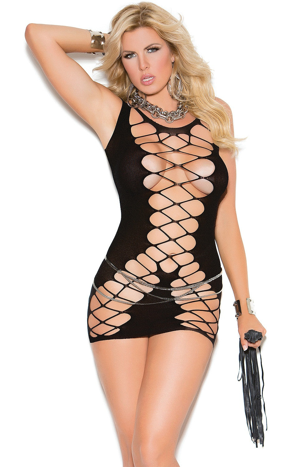 EM-81288 Sexy crochet dress - Sexylingerieland