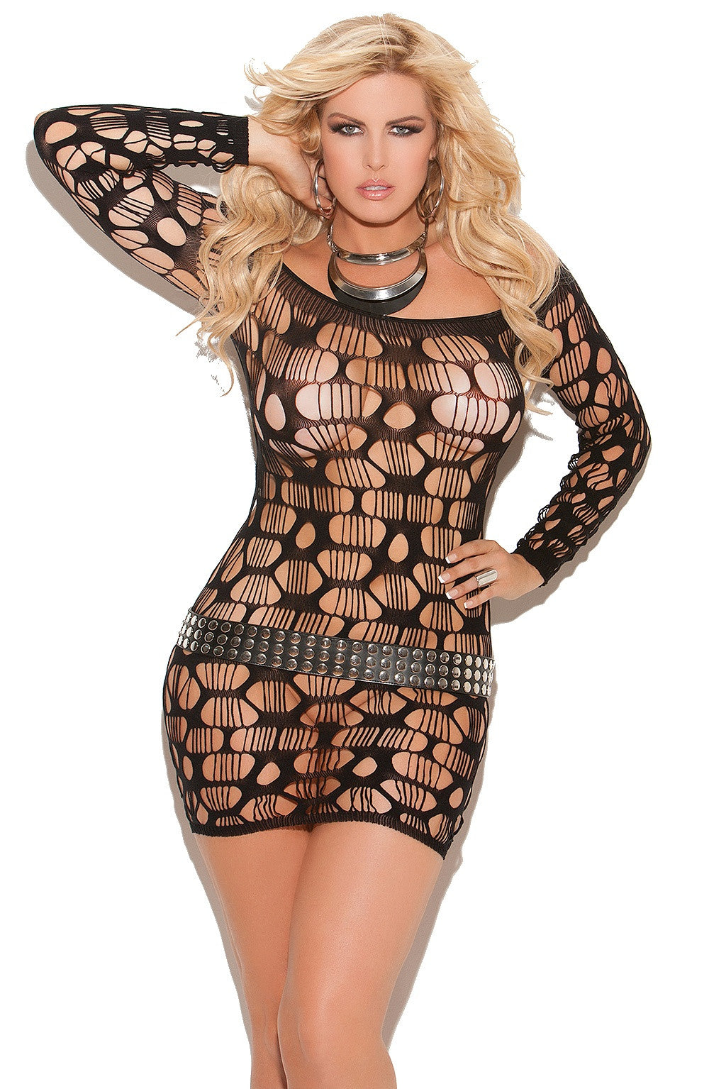 EM-8674 Erotic mini dress - Sexylingerieland  - 3