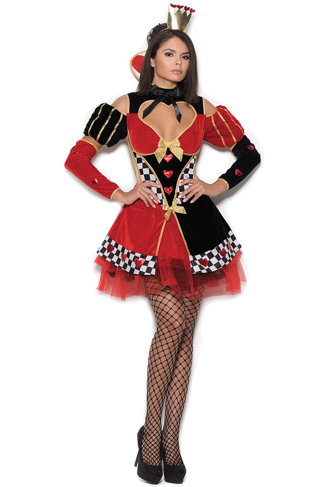 Womens costume Queen of Hearts - Sexylingerieland