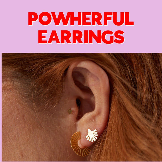POWHERFUL EARRINGS