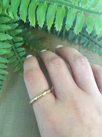 Twist Gold Filled Ring