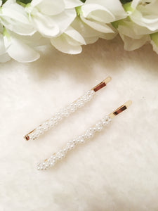 The Pearls Duo Hair clips