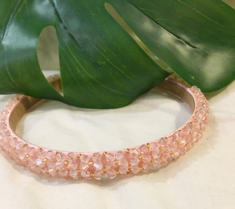 The 'Alexandria' Headband in Pink