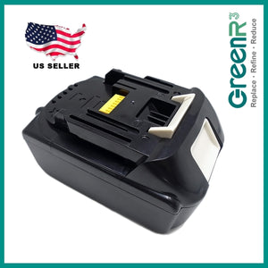 GreenR3 18V 4.0Ah LXT Replacement Battery Compatible for Makita BL1815, BL1830, BL1840, BL1850