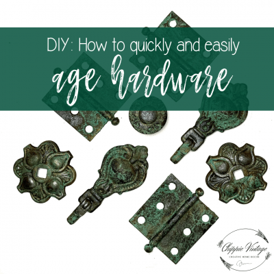 DIY: How to easily and quickly age hardware