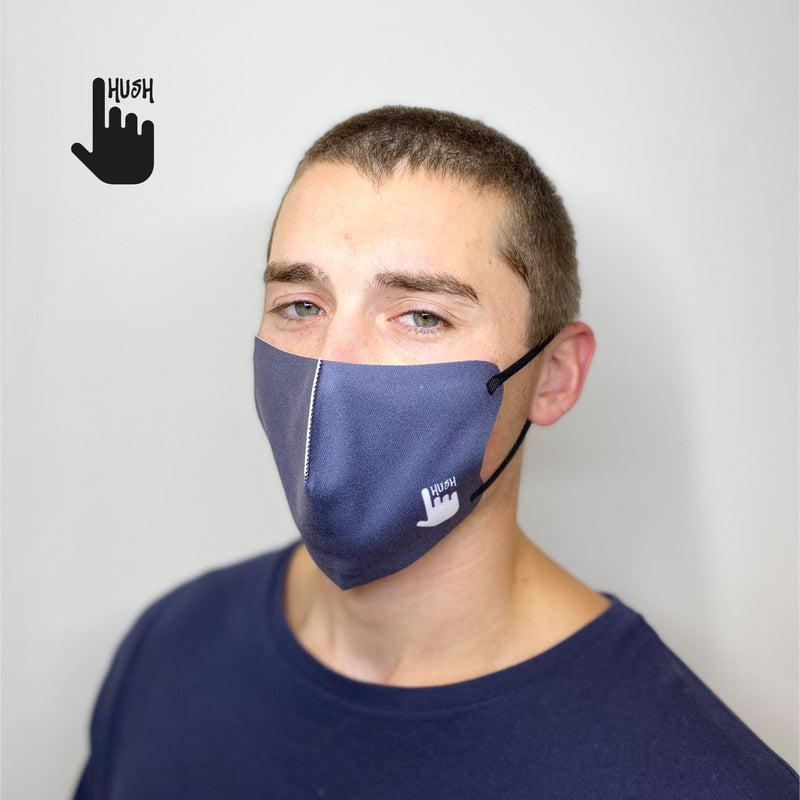 Bundle of Five: Navy Hush Mask Hush Mask
