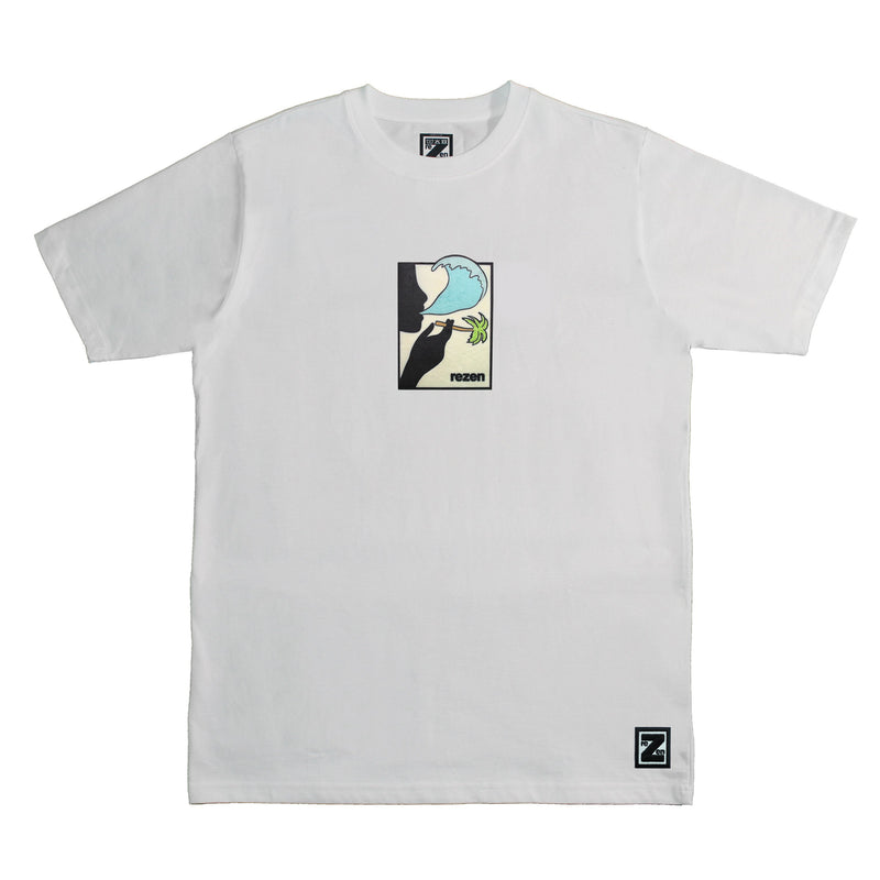 Fresh Air Tee - White Tee Rezen