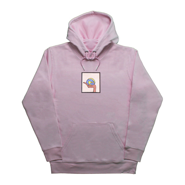 In Our Hands Hoodie - Pink Hoodie Rezen