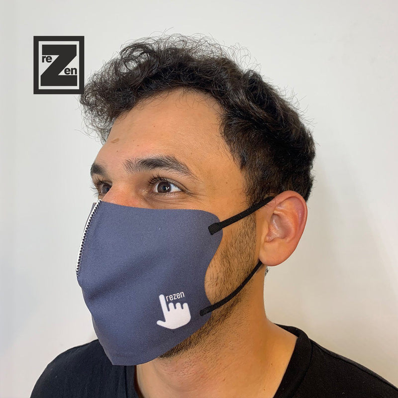 Navy Hush Mask Hush Mask