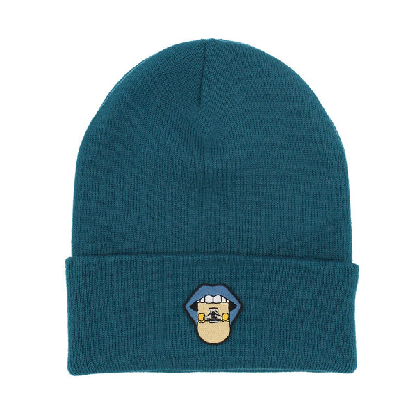 Tasty Skate - Blue & Gold Beanie Rezen Blue
