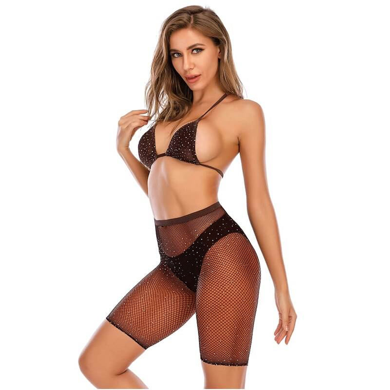 12 Colors Bra And Underwea -Coffee Color