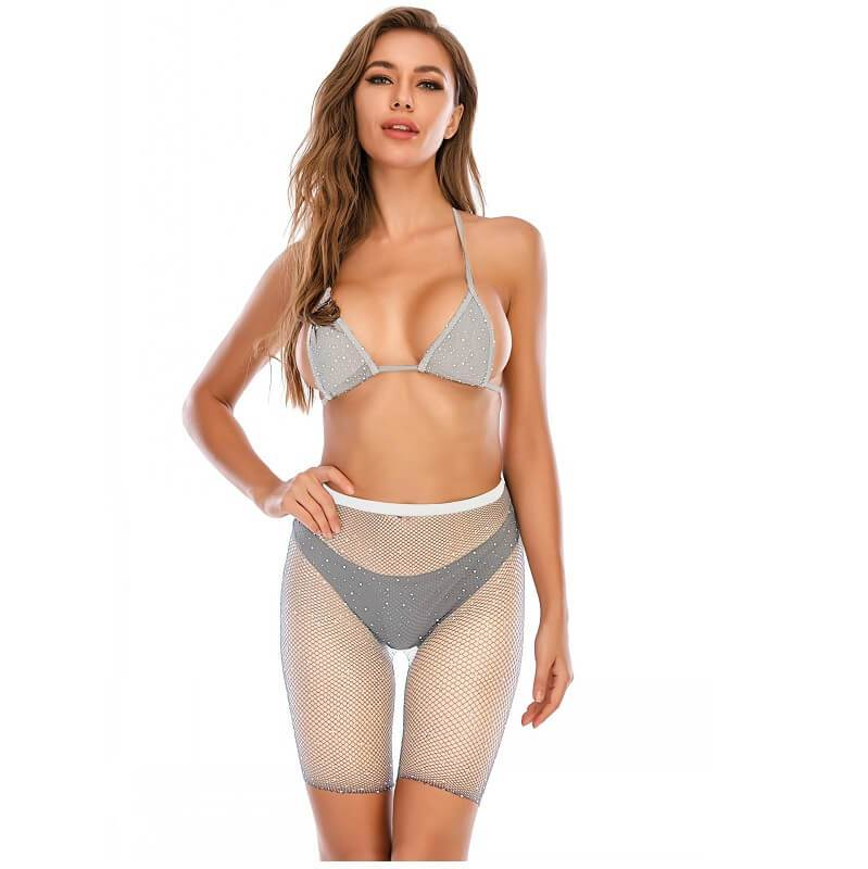 12 Colors Bra And Underwea -White Color