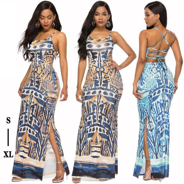 Sexy Strappy Maxi Dress - Wholesale Maxi Dress | Chic Lover