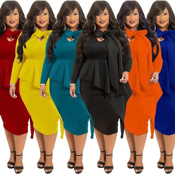 plus Size Mother Of The Bride Dresses - six colors