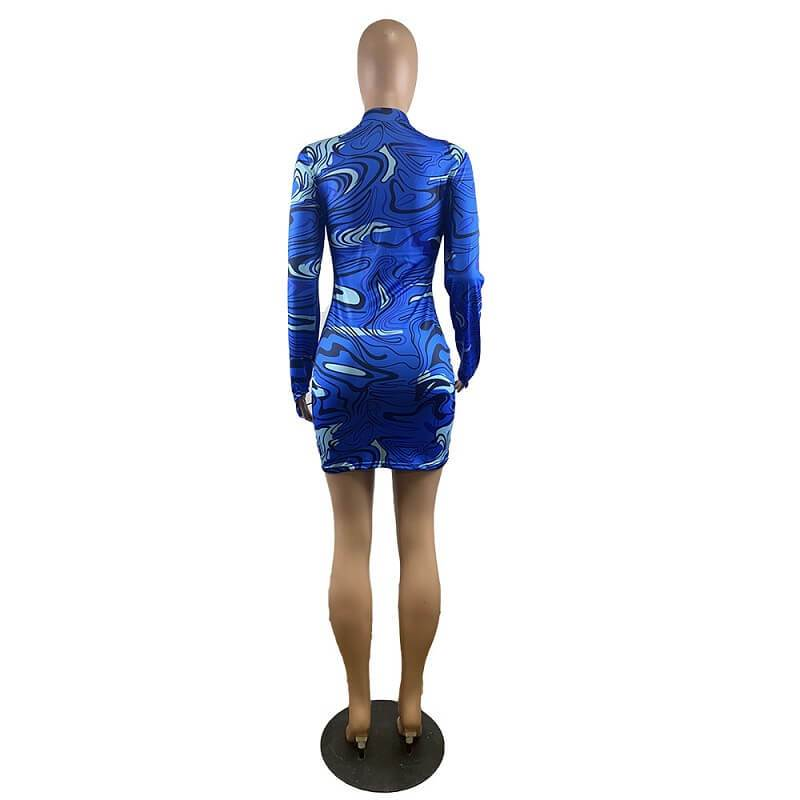 Buttock Print Dress