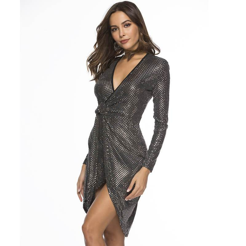 Sexy Glitter Dress -  Chic Lover