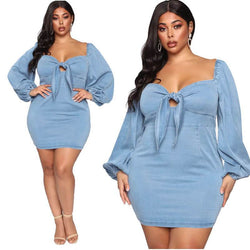 Wedding Dresses For Curvy Women - blue main picture