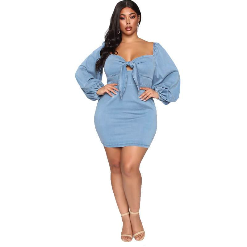 Wedding Dresses For Curvy Women - blue positive