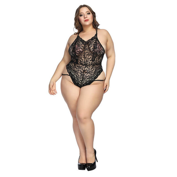 Plus Size  Lace-incorporated Sexy Underwear