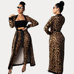 Leopard Print Two Piece - Wholesale Two Piece Sets | Chic Lover