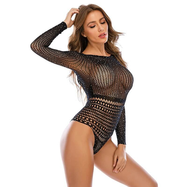 Long Sleeve Mesh Lingerie - Wholesale Lingerie | Chic Lover