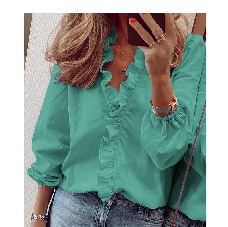 Plus Size Pineapple Shirt - green color