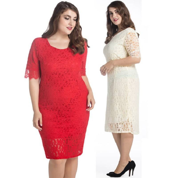 Mother of The Groom Dresses Plus Size - two colors