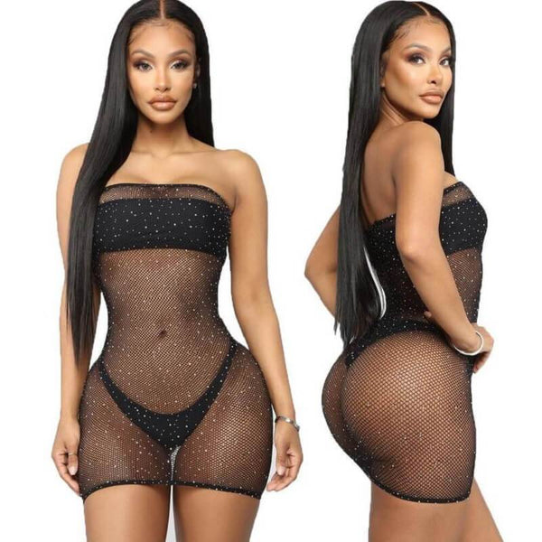 4 Colors Inexpensive Lingerie - Black Color