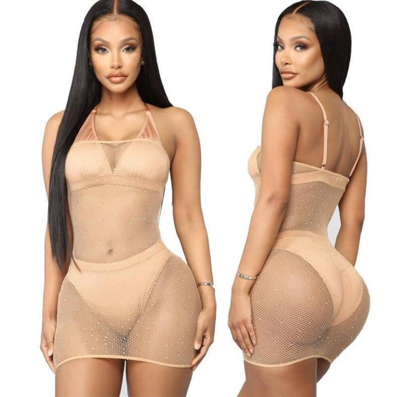 4 Colors Inexpensive Lingerie - Skin Color