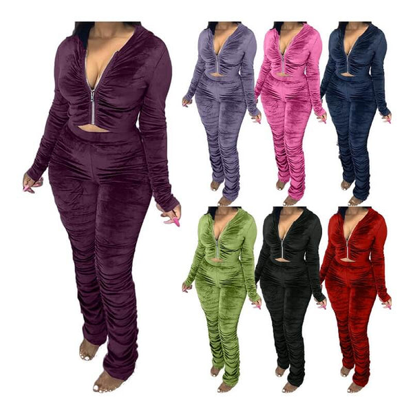 Plus Size Style Leisure Suit - main picture