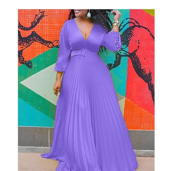 Chiffon Plus Size Graduation Dresses