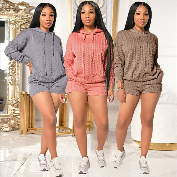 Plus Size 2 Piece Sweater Sets - main picture