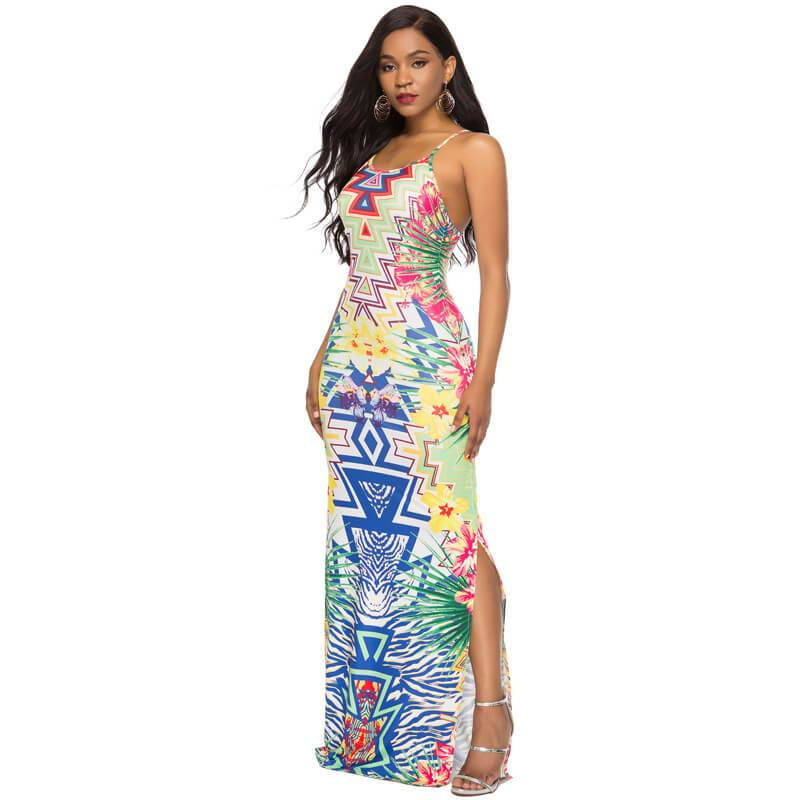 Strappy Back Maxi Dress - Wholesale Maxi Dress